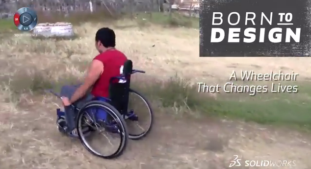 Born to Design: GRIT wheelchair improves mobility for the physically disabled