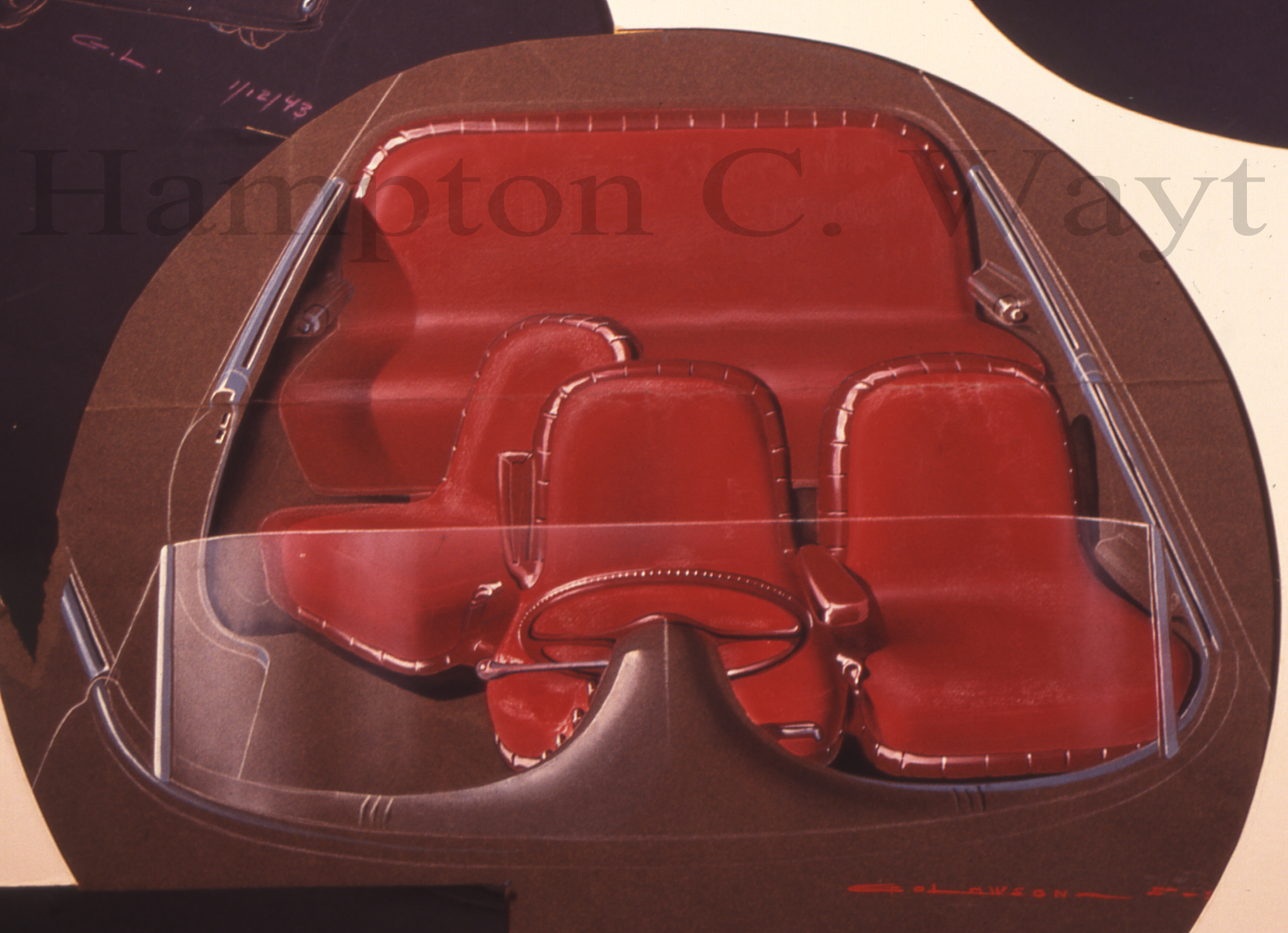 Lawson Interior solidworks and the tucker torpedo part 2 Tucker 48 Engine at bayanpartner.co