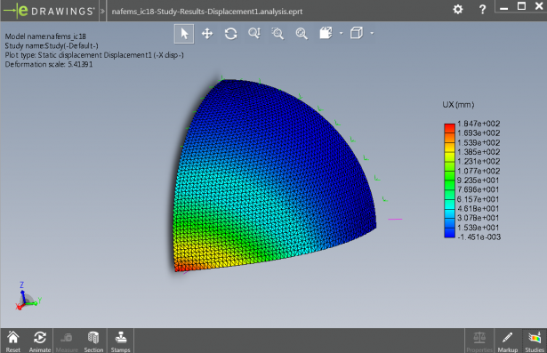 eDrawings to communicate Simulation results
