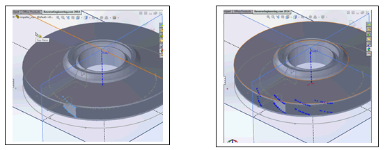 Modeling and re-building your scanned part directly in SOLIDWORKS.