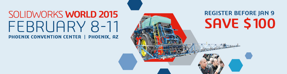 SOLIDWORKS World 2015 Top Ten List is going strong