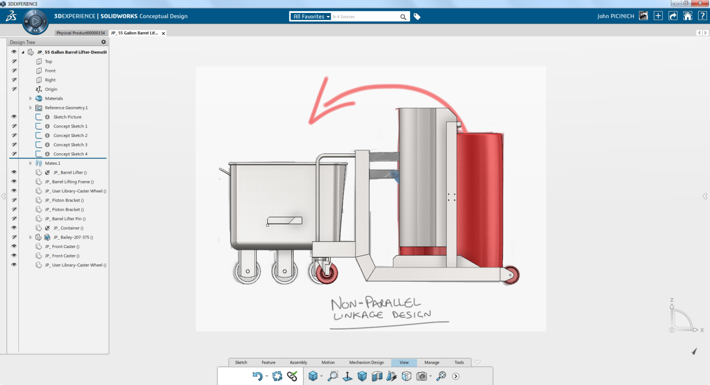 SOLIDWORKS Conceptual Design:  New Name, New Innovations