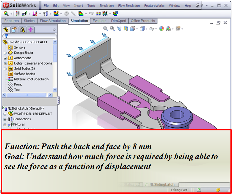 Automation using SOLIDWORKS Simulation API