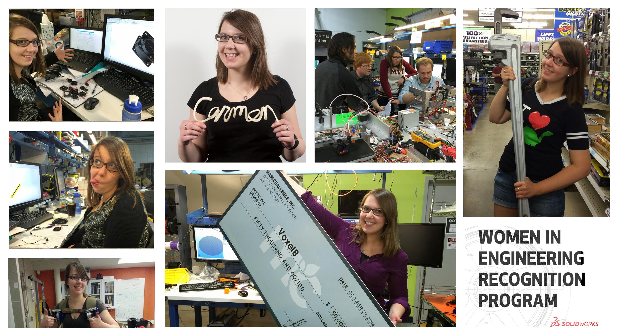 SOLIDWORKS Women in Engineering Series – Carmen Graves