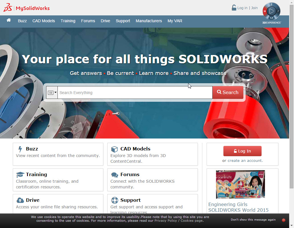 SOLIDWORKS Subscription Users: Activate MySolidWorks