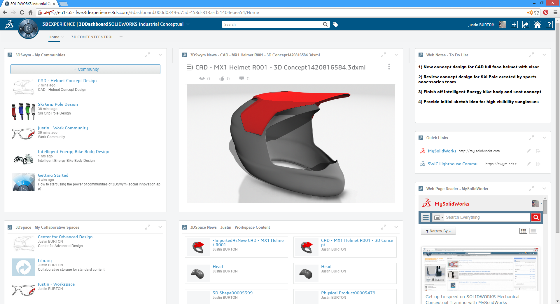 Accelerating Industrial Design Concept Development with SOLIDWORKS Industrial Designer