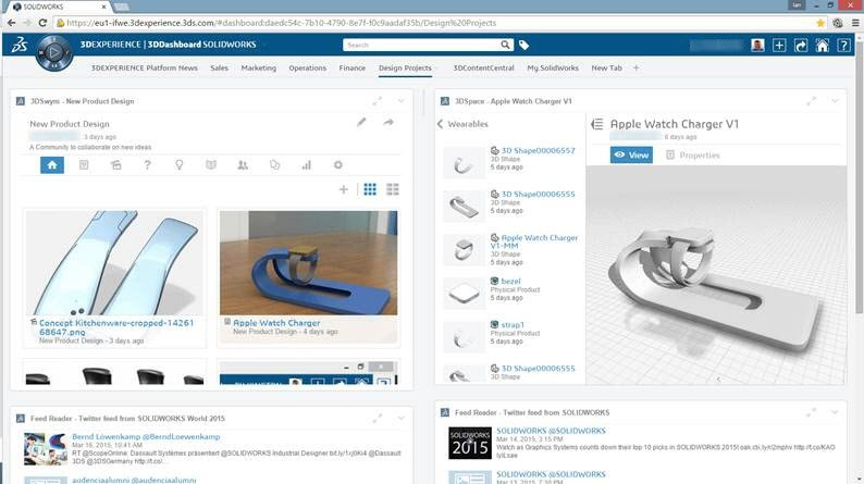 Manage Your Projects With 3DEXPERIENCE Dashboards