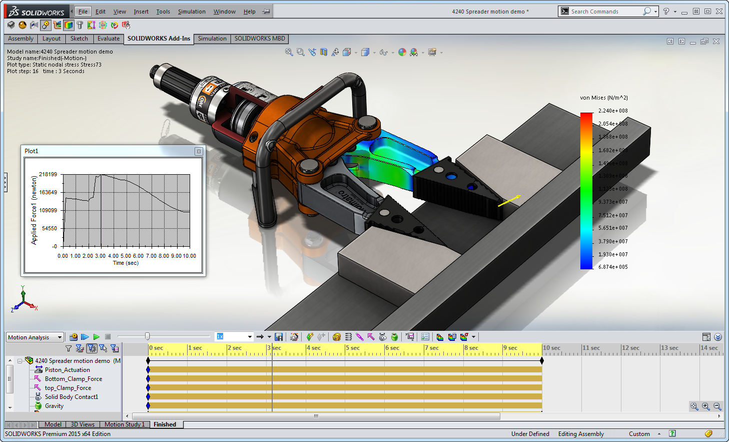 Design Assemblies with Moving Parts Easily with SOLIDWORKS Motion