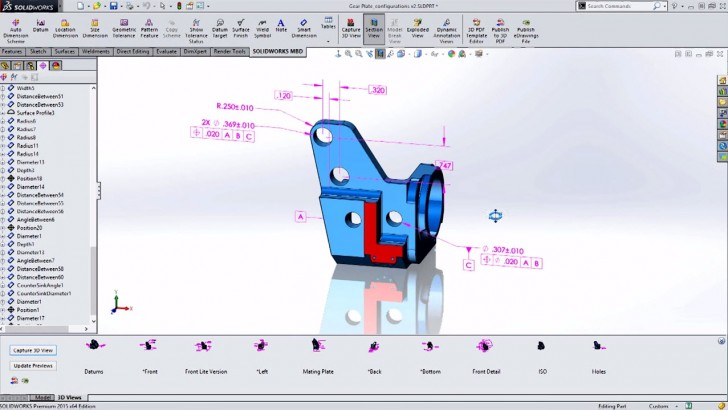 SOLIDWORKS Short: SOLIDWORKS MBD and Engineering 4.0
