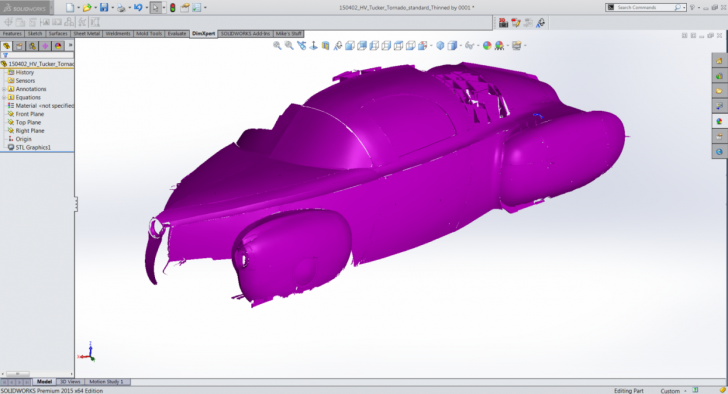 SOLIDWORKS and Tucker Torpedo Part 5
