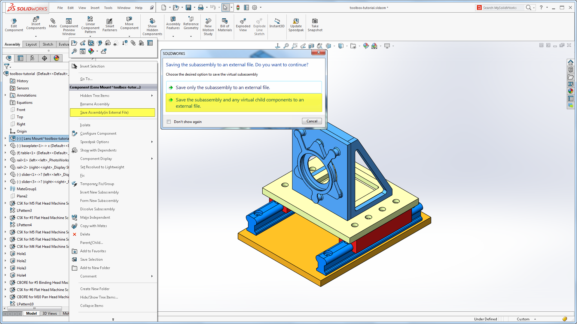 solidworks 2016