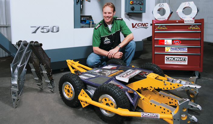 CAD's Role in Engineering Next Gen Robotics and BattleBots Champions
