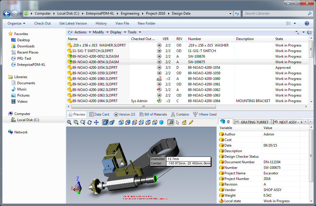 Powerful Data Management Capabilities With Solidworks Pdm