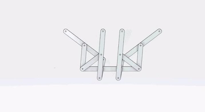 Conceptual Designer Mechanisms: Chebyshev's Plantigrade Machine