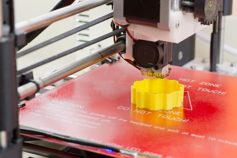 3D printing opens new design options.