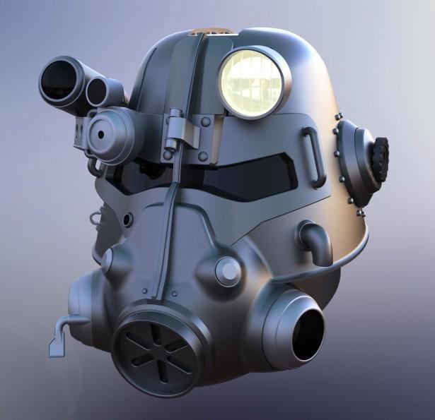 T45-d Power Armour Helmet