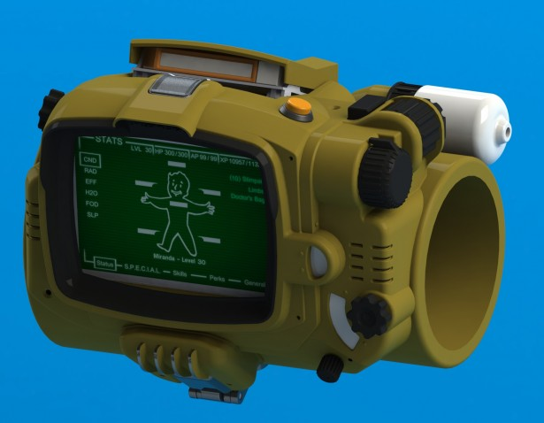 pipboy 3000 MkIV front
