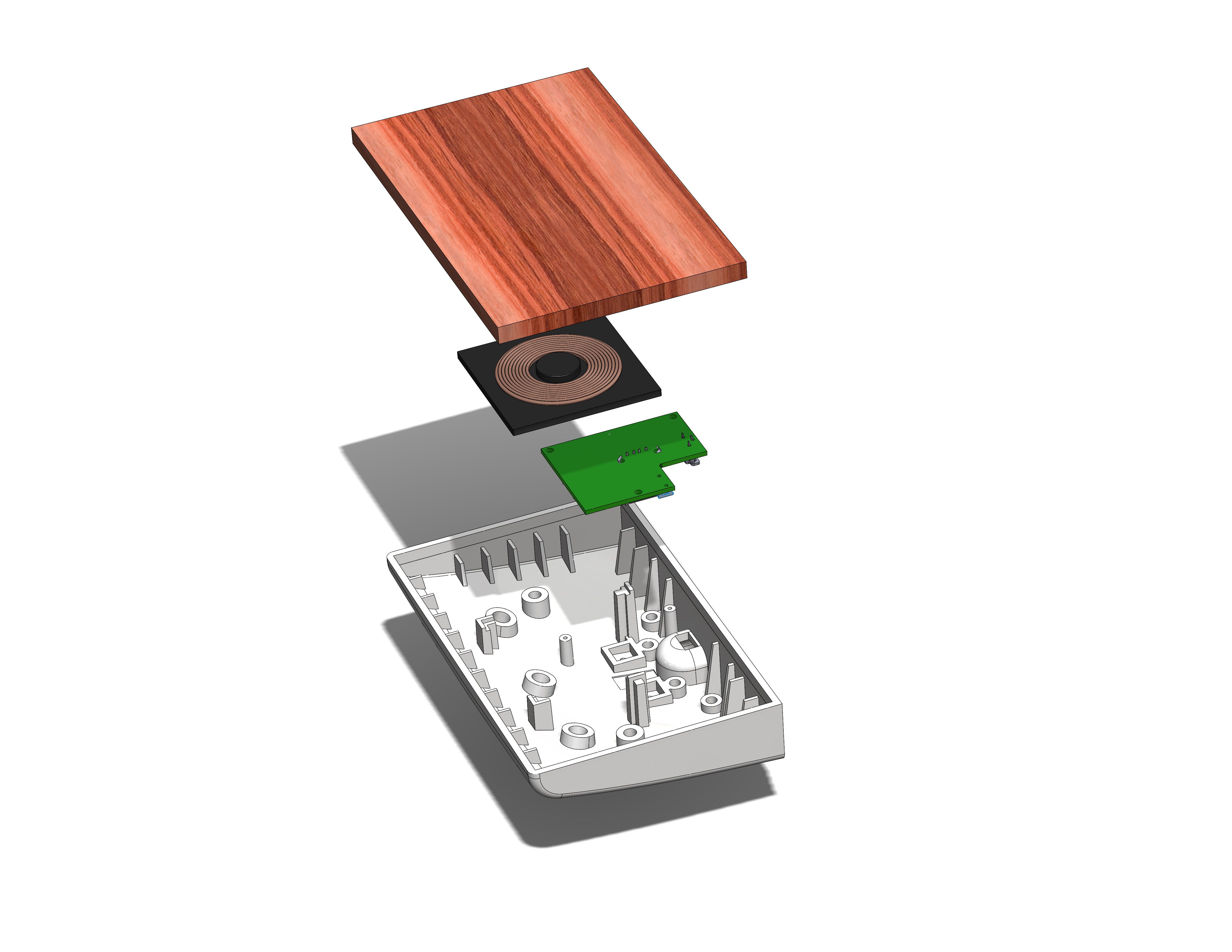 CLEAR design lab - wireless charging self 3