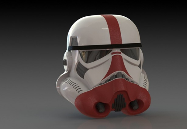 SOLIDWORKS Meets Star Wars: Storm Trooper