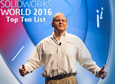 SOLIDWORKS World 2016 Top Ten Ideas list voting now open!
