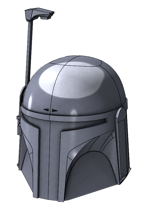 SOLIDWORKS Meets Star Wars: Boba Fett