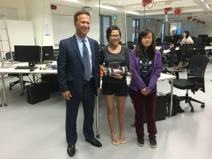 Visiting Singapore's Future Design and Technology Leaders