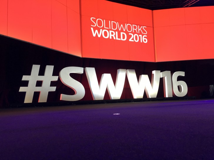 What to Expect on Day One at SOLIDWORKS World 2016