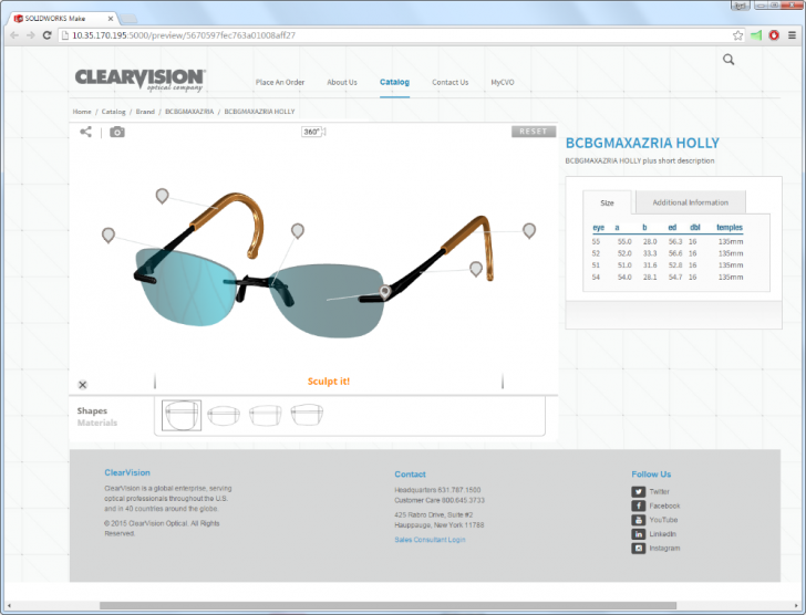 SOLIDWORKS Sell Enables Customers to Personalize Products