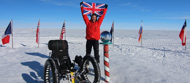 SOLIDWORKS cycling to the South Pole
