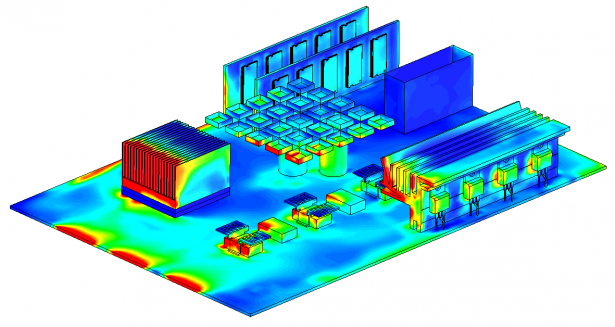 Fig. 2. SOLIDWORKS Flow Simulation