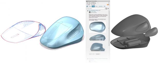 Fig. 1. Sample image - SOLIDWORKS Industrial Designer