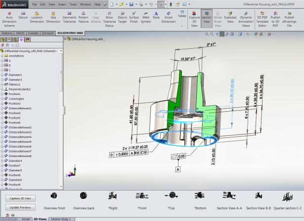 Figure 5 Visual 3D View Filmstrip