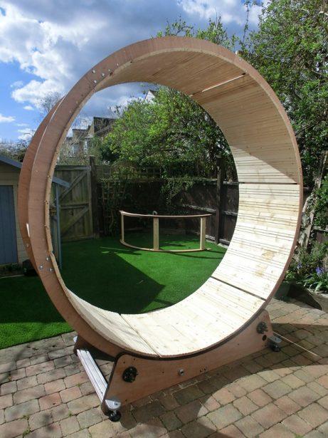 Dean Ovel's Hamster Wheel