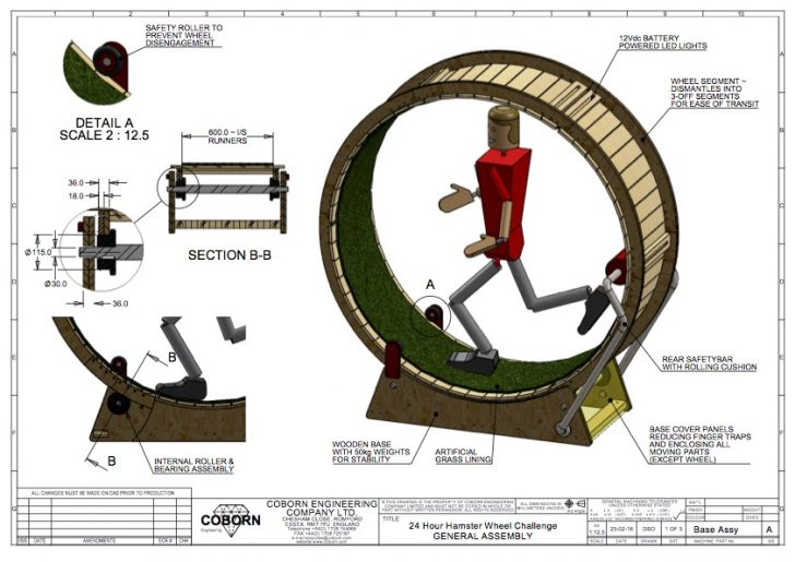 Dean Ovel: SOLIDWORKS and 24 Hours in a Human Hamster Wheel