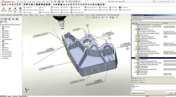 Automatic CMM programing per 3D GD&T