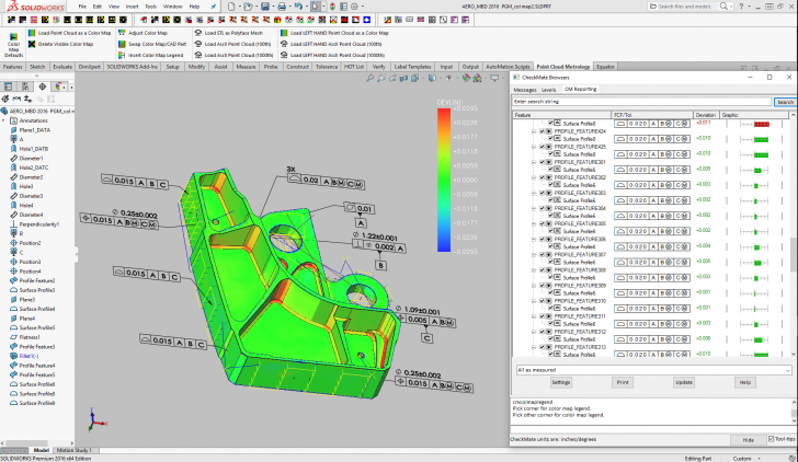 Origin's CheckMate for SOLIDWORKS Embraces the Model-Based Enterprise
