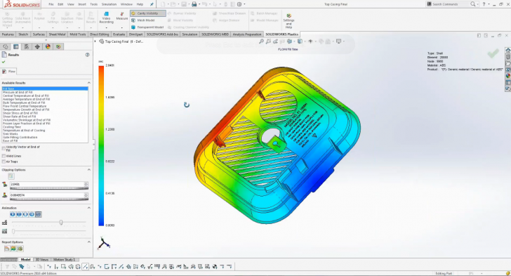 Recorded Webinar: Solving Part and Mold Manufacturing Design Issues with SOLIDWORKS Plastics