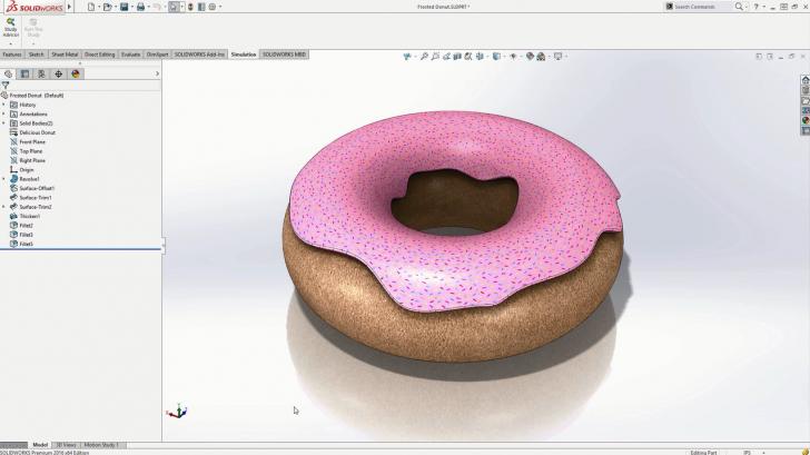 Simulation Explained: Donut Drop Test