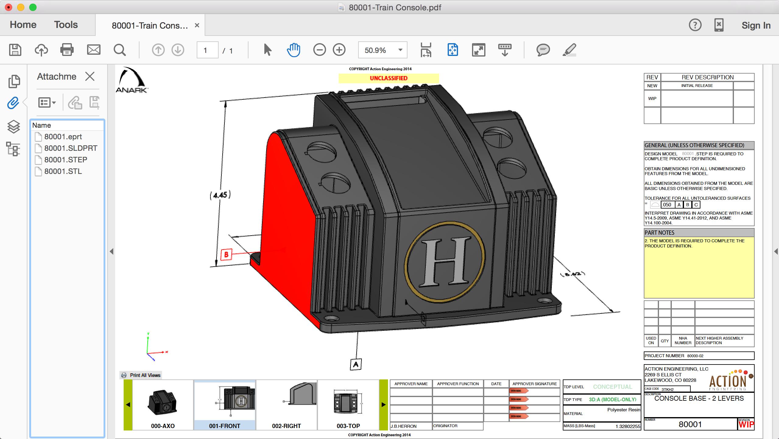 3DPDF-Train Console