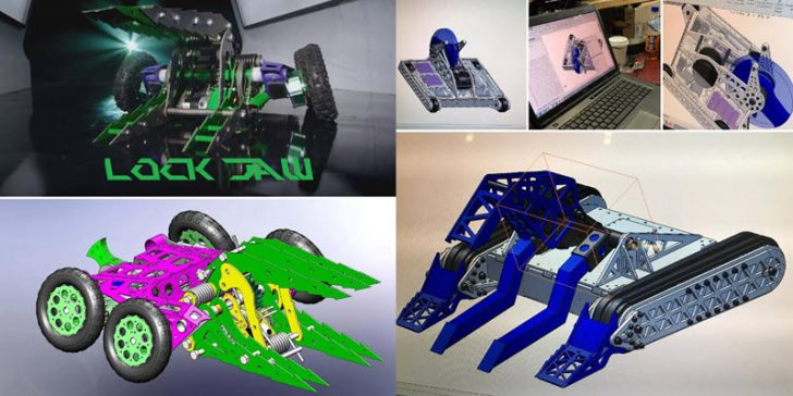 BattleBots Arms Itself with SOLIDWORKS
