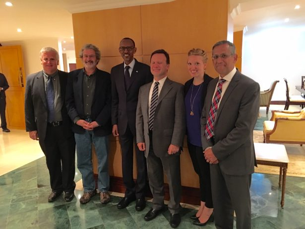 MIT and SOLIDWORKS with President Kagame
