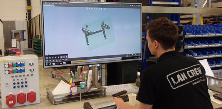 Lan | Abar Handling Technologies Do Lean Manufacturing with SOLIDWORKS