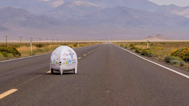 Project Nevada Plymouth University Goes for Land Speed Record in Nevada 2