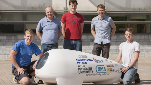 Project Nevada Plymouth University Goes for Land Speed Record in Nevada 4