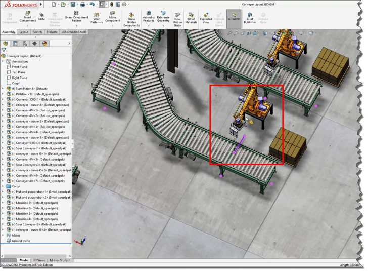 Designing Large Assemblies Faster and More Easily with SOLIDWORKS 2017