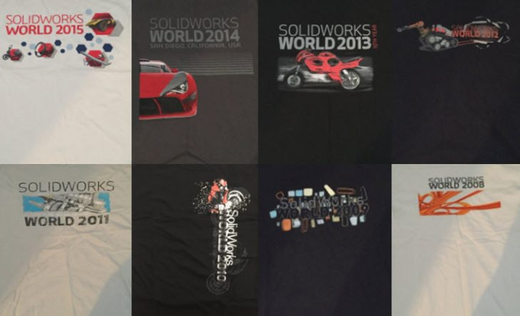 Back by popular demand: The SOLIDWORKS World T-shirt Design Contest!