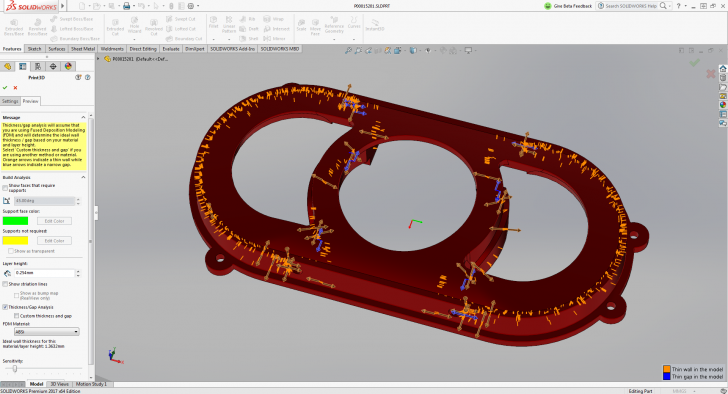 SOLIDWORKS 2017: 3D Printing as Easy as 2D Printing
