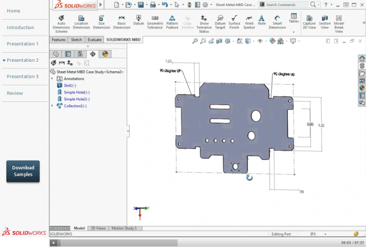 Free SOLIDWORKS Model Based Definition Learning Resources
