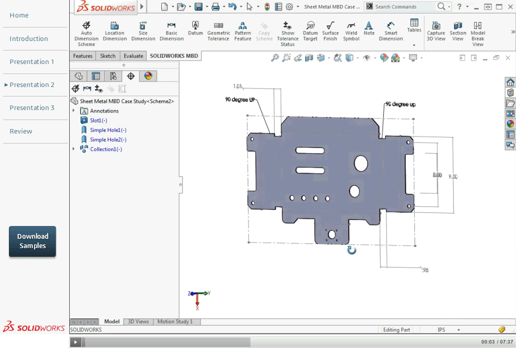 Free Solidworks Mbd Learning Resources