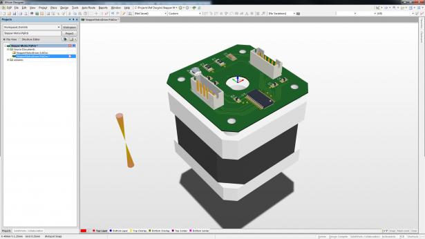 SOLIDWORKS component and enclosure models in Altium Designer